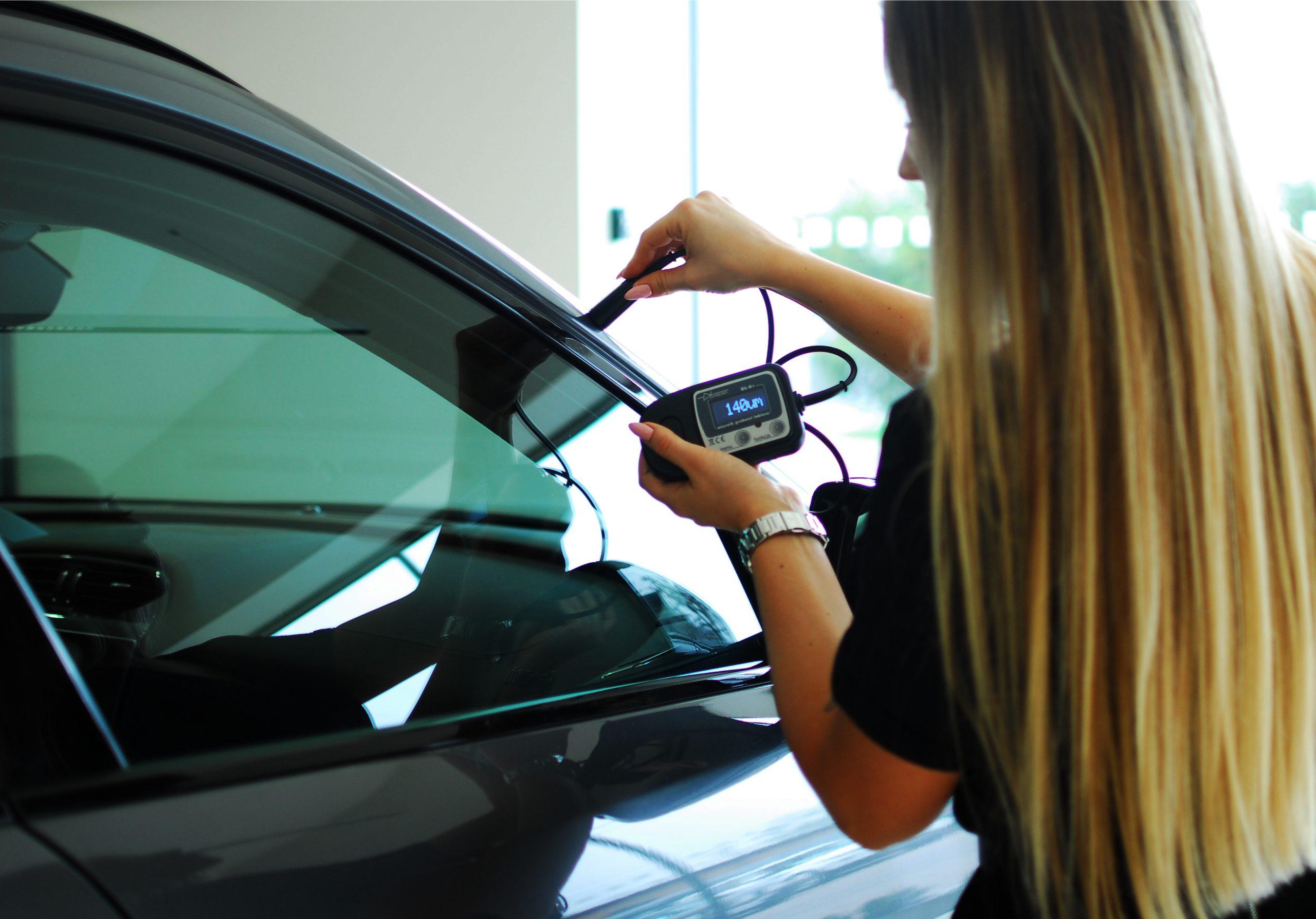 gl smart - do pomiaru powłoki lakierniczej samochodu