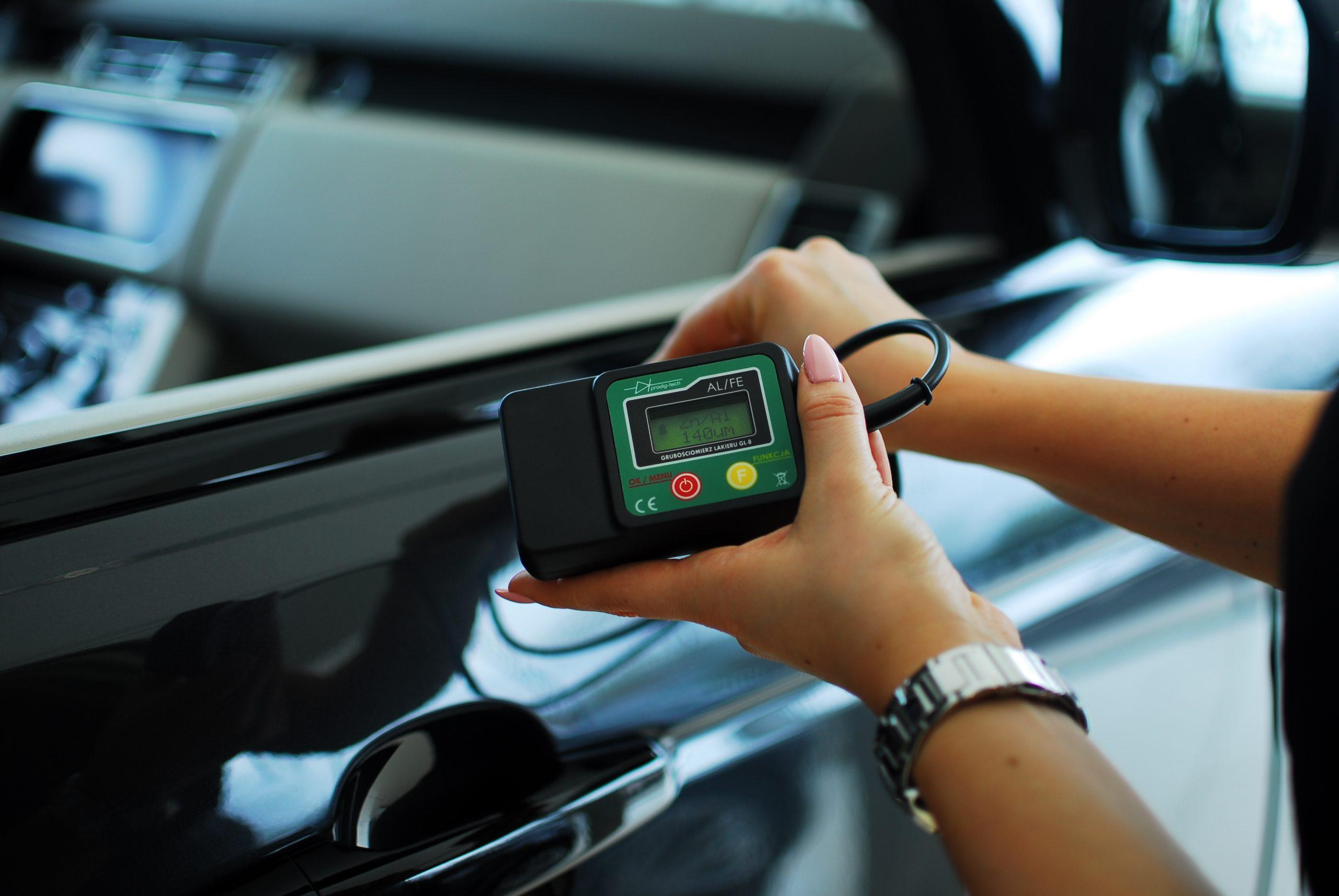 Miernik tester lakieru gl smart - pomiar powłoki lakierniczej